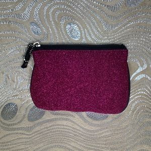 Small Pink Shimmering Hand Bag